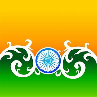 Flag Creative Indian Wheel Vector Florals Illustration