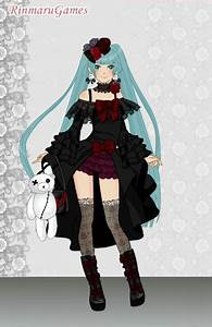 Anime gothic girl dress up game by Pichichama on DeviantArt