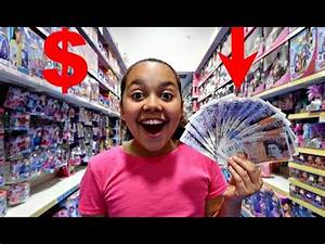 TIANA SPENDS 200 In 10 MINUTES! Toy Hunt Shopping ...