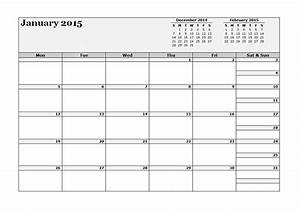 2015 three monthly calendar template free printable With 3 day calendar template