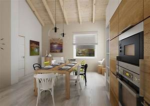 projet de villa avec toit cathedrale picslovin With coin repas dans cuisine