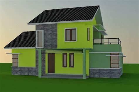 membuat rumah rumahan minimalis  kardus gambar om