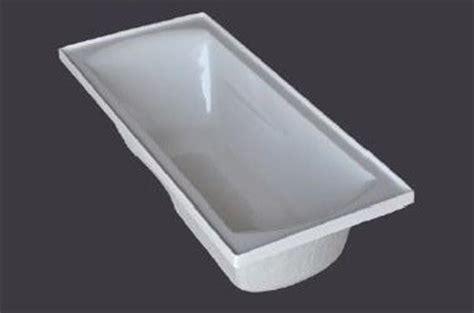 1795mm Acrylic Bath Tub Drop In Inset Design 1795*760