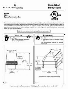 Square Termination Cap Ts345 Manuals