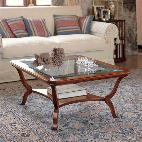 Ladari Classici In Cristallo tavolini da salotto in cristallo classici terredelgentile