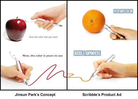 pen that scans colors the scribble pen scans colors then reproduces them core77