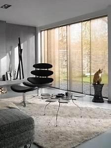 Rideau Baie Vitree : decoration baie vitree rideaux mam menuiserie ~ Premium-room.com Idées de Décoration
