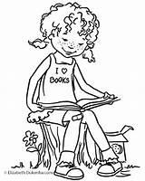 Coloring Boy Tom Reader sketch template