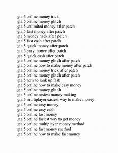 Code For Unlimited Money In Gta V | gta v unlimited money ...