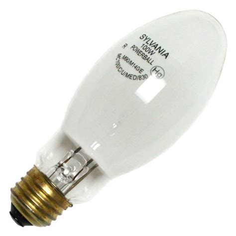 sylvania 64865 mc100 c u med 830 100 watt metal halide