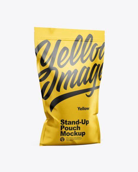 Half fold vertical brochure mockups. Free Mockup Free PSD Mockup Matte Stand-Up Pouch w/ Zipper ...