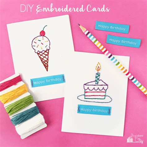 diy birthday cards    cute shelterness