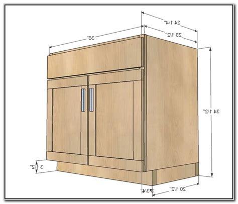 kitchen base cabinet height
