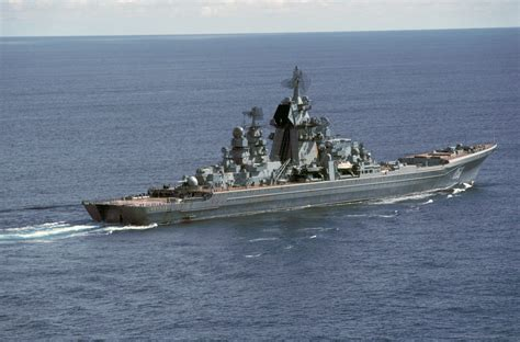 Russia's Kirov Class, A Heavy Nuclear-powered Guided