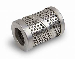 Replacement Fuel Filter Element  100 Micron  Stainless Steel