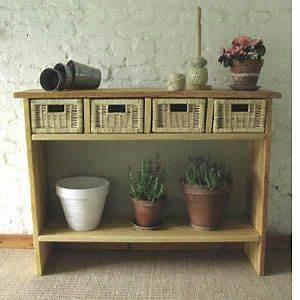 diy console table projects pinterest planche de With marvelous fabriquer un meuble d entree 0 fabriquer un meuble de rangement pour une entree