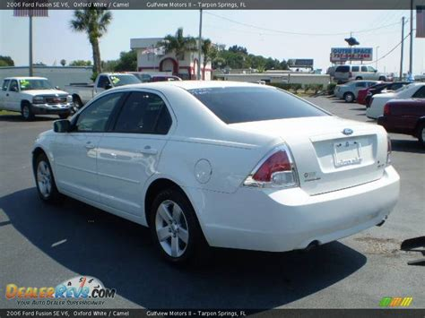 2006 Ford Fusion Mpg by 2006 Ford Fusion Se V6 Mpg