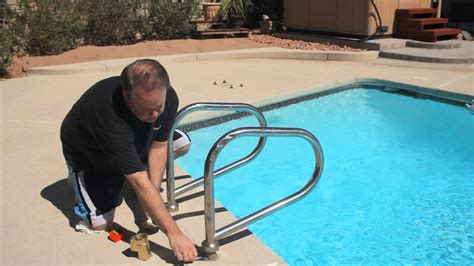 how to install in ground pool ladders pools spas