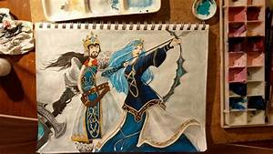 King Tryndamere and Queen Ashe by ezgicelep on DeviantArt