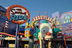 Universal Studios Hollywood Simpsons Ride