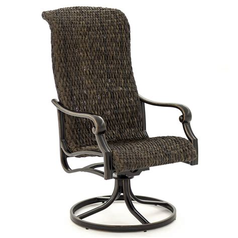 Enjoy the beautiful weather with your friends and relaxing life on perfect outdoor chairs. Du Monde 2 Piece Banana Leaf Wicker Patio Swivel Rocker ...