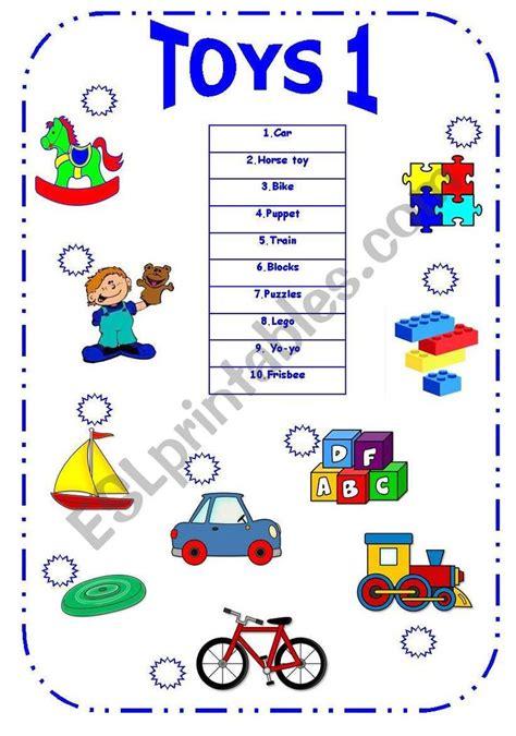 toys matching  pictures esl worksheet  remziye
