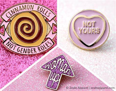 Feminist Enamel Pin Pack - Zealo Apparel