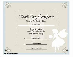 free printable tooth fairy certificate tooth fairy With free printable tooth fairy certificate template