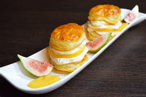 dessert avec des kakis s 252 223 e bl 228 tterteig burger mit kaki und mascarpone katha kocht