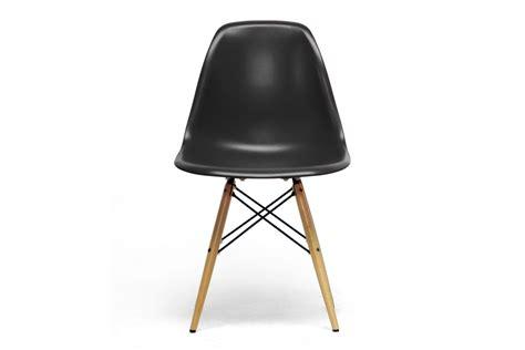 baxton studio azzo plastic side chair set of 2