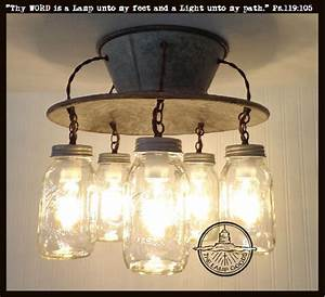 An Exclusive Lamp Good Mason Jar Light Fixture
