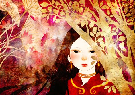 Folklore picture book illustration on Behance