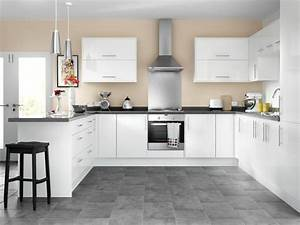 Orlando - White High Gloss kitchen Wickes co uk