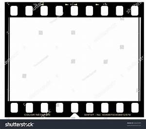 Negative Picture Film Frame Stock Photo 66643285
