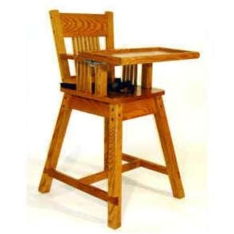 noahs highchair plan afd  crafts woodworking