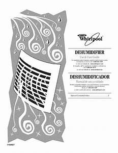 Whirlpool Dehumidifier Ad25b User Guide