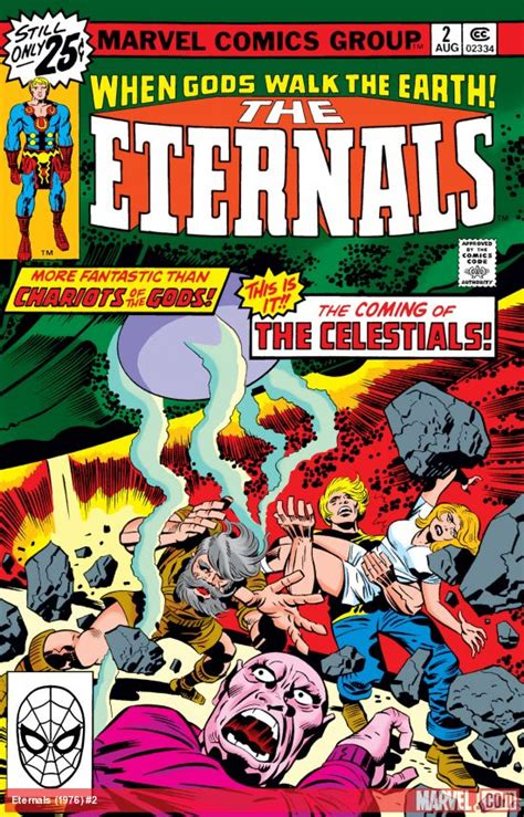 Eternals (1976) #2 | Comic Issues | Marvel