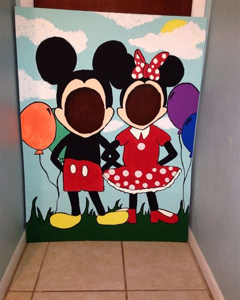 mickey mouse clubhouse photo prop st bday ideas