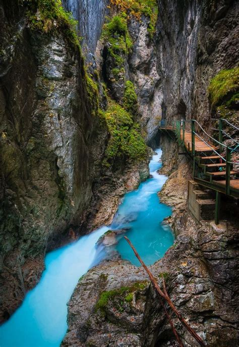 Leutasch Gorge In Bavaria Germany World Travel