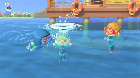 animal crossing horizons update swimming nintendo summer mario august another castle early law