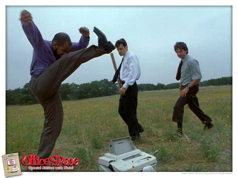 Office Space Smashing Printer by Wear Your Flair The Cast Of Office Space Then And Now