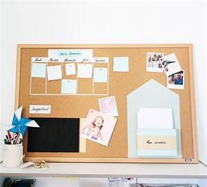 Tableau De Liège : diy un tableau en li ge pour s 39 organiser shylylovely ~ Melissatoandfro.com Idées de Décoration
