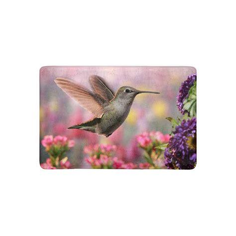 Hummingbird Rug by Mkhert The Jeweled Of A Hummingbird Doormat Rug