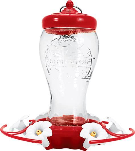 oz decorative hummingbird feeder pennington