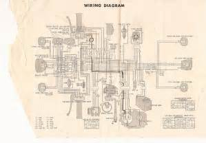 1974 Honda XL 250 Wiring Diagram