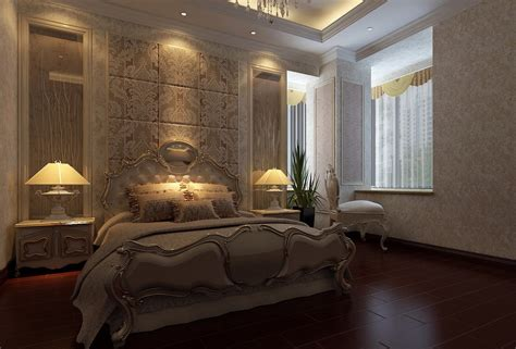 New Classical Bedroom Interior Design 2014