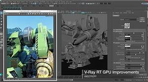 V-Ray 3.1 Adds Maya 2016 Support With Over 100 New ...