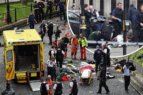 London Terrorist Attack Five Dead As Car Rams Crowd At