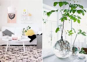 Plante De Salon : la d coration d 39 un salon au fil des saisons mademoiselle claudine le blog ~ Teatrodelosmanantiales.com Idées de Décoration