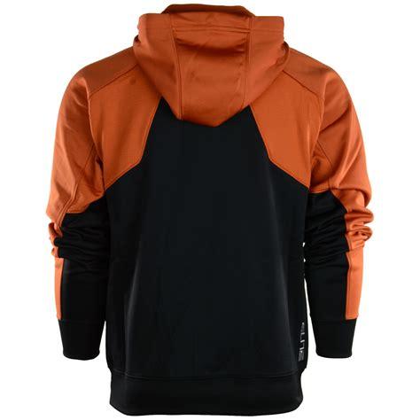 Nike Mens Texas Longhorns Thermafit Fullzip Hoodie in Orange for Men | Lyst